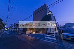 大阪府堺市堺区老松町2丁の賃貸アパートの外観