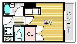 永代町壱番館[4階]の間取り