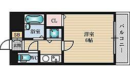 グランピア井上[3階]の間取り