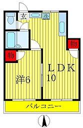 五香レジデンス[2階]の間取り