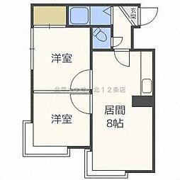 ソシアルコート22[2階]の間取り