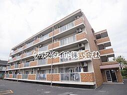 神奈川県厚木市愛甲3丁目の賃貸マンションの外観