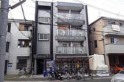 ロータリーマンション西三荘[1階]の外観