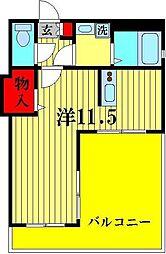 CREW HOUSE 東松戸[1階]の間取り
