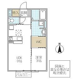 D-Room TOM[102号室号室]の間取り