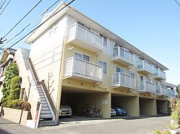 埼玉県戸田市喜沢南1丁目の賃貸アパートの外観