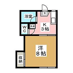 STコーポ[1階]の間取り