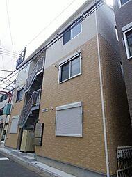 神奈川県横浜市西区中央2の賃貸アパートの外観