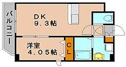 パレススイートII[3階]の間取り