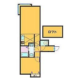 ソニアコート[2階]の間取り