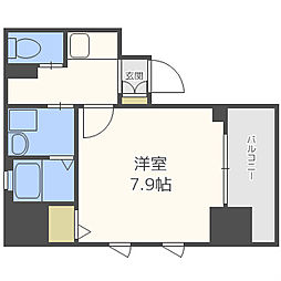 サムティ本町AGE[7階]の間取り
