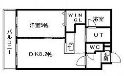 カルディーノN30[1階]の間取り