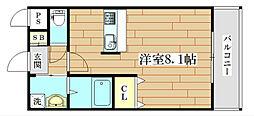 ガルリ高槻[2階]の間取り