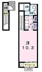 シルフィード八雲[2階]の間取り