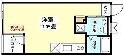 オットキューブ[1階]の間取り