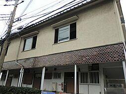 奈良県生駒市本町の賃貸アパートの外観