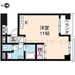 京都友禅文化会館[705号室]の間取り