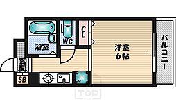 コムズハウス千里中央1[3階]の間取り