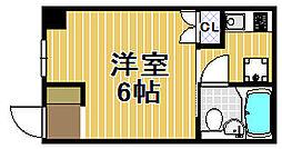 小林ハイツ[2階]の間取り