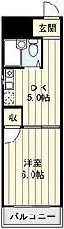 かねまつ南巽マンション[1階]の間取り