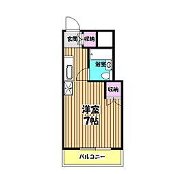 横川田口ビル[2階]の間取り