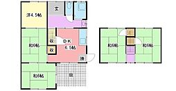 [一戸建] 兵庫県姫路市新在家本町2丁目 の賃貸【/】の間取り