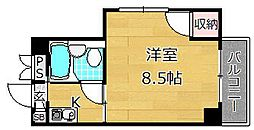 ロータリーマンション出口[1階]の間取り