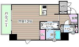 プリエ梅田[6階]の間取り