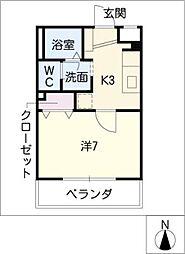 ミネルバ[1階]の間取り