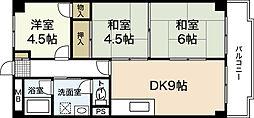 三沢ビル[3階]の間取り