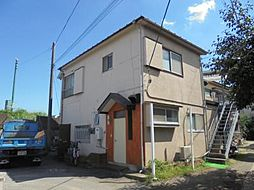 神奈川県川崎市中原区上丸子山王町1丁目の賃貸アパートの外観