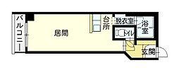 大成5・14ビル[6階]の間取り