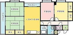 第17共立ビル[301号室]の間取り