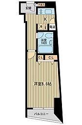 HF三田レジデンス[0201号室]の間取り