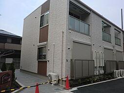 兵庫県尼崎市御園2丁目の賃貸アパートの外観