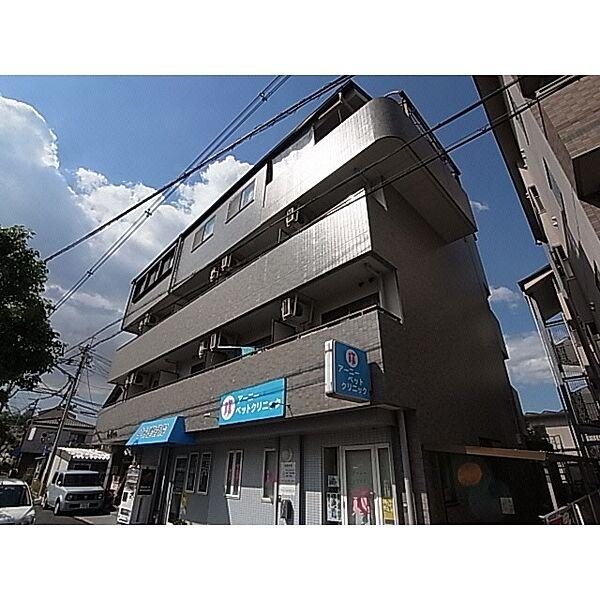奈良県奈良市三碓4丁目の賃貸マンションの外観