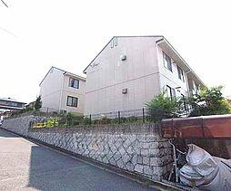 京都府相楽郡精華町桜が丘の賃貸アパートの外観