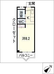 パークメゾン[2階]の間取り
