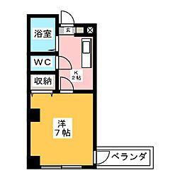 レスポールII[2階]の間取り