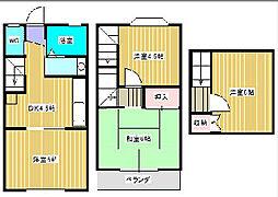第3黄金城ハイツA[1階]の間取り