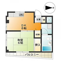h983[3階]の間取り