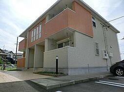 愛知県稲沢市稲沢町北山1丁目の賃貸アパートの外観