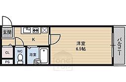 大宝都島ル・グラン[4階]の間取り