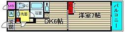 フェニックス日本橋高津[704号室]の間取り