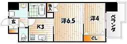 REGARIA KOKURAKITA CENTER PLAC[13階]の間取り