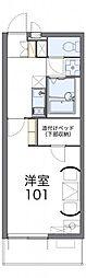 コスモMK[3階]の間取り