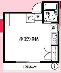 第一誠ビル[02-C号室]の間取り