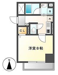 笹島アイサンメゾン[6階]の間取り