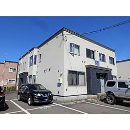 北海道苫小牧市拓勇西町8丁目の賃貸アパートの外観