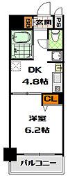 フェニックス日本橋高津[3階]の間取り
